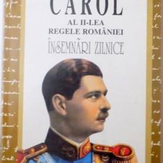 CAROL AL II-LEA REGELE ROMANIEI, INSEMNARI ZILNICE (1937-1951), VOL. IV (8 SEPTEMBRIE 1940-19 MAI 1941) de NICOLAE RAUS, 2003 - Carte Istorie