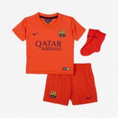 Compleu Copii Nike Fc Barcelona Away 610806-672 - Echipament fotbal