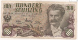 AUSTRIA 100 SCHILLING 1960 F