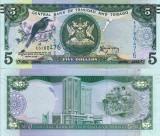 TRINIDAD & TOBAGO 5 dollars 2006 (2015) UNC!!!