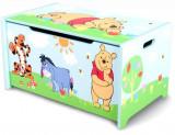 Ladita din lemn pentru depozitare jucarii Disney Winnie the Pooh, Multicolor, Delta Children