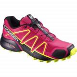 Adidasi Femei Salomon W Terenie Speedcross 4 398423, 37 1/3, 38, 38 2/3, 39 1/3, Roz