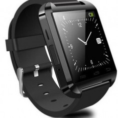 Smartwatch U-Watch Bluetooth U8 negru Resigilat