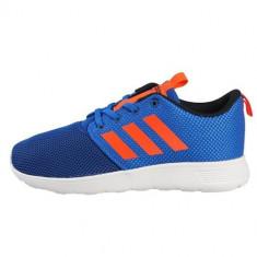 Adidasi Copii Adidas Swifty K AQ1695, Marime: 35, 36, 36 2/3, 37 1/3, 38, 38 2/3, 39 1/3, 40, Bleumarin