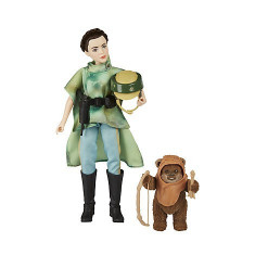 Set papusi deluxe Printesa Leia si Wicket din Star Wars: Forces of Destiny, Disney