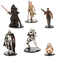 Set 6 figurine Star Wars: The Force Awakens, Disney