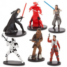Set 6 figurine Star Wars: The Last Jedi, Disney
