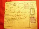 Buletin de Expeditie Ungaria 1918 trimis de la Paka (Zala) la Budapesta