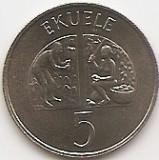 Guineea Ecuatoriala 5 Ekuele 1975 - Cupru-Nichel, 21 mm, KM-33 UNC !!!, Asia