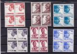 ROMANIA 1940  LP 139   CAROL  II  10  ANI DE DOMNIE BLOCURI DE 4 TIMBRE   MNH, Nestampilat