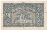 ROMANIA 50 BANI BGR 1917 VF