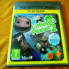 Joc Little big Planet 2, PS3, alte sute de jocuri!, Actiune, 16+, Single player, Sony
