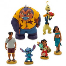 Set 6 figurine Lilo si Stitch, Disney