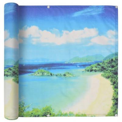Prelata balcon, material Oxford, 90x400 cm, imprimeu lac foto