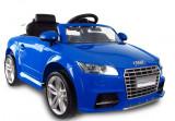 Masinuta electrica Audi TT RS Quattro, albastru