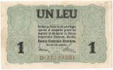 ROMANIA 1 LEU BGR 1917 XF