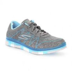Adidasi Femei Skechers GO Flexability 81082LCCTQ - Adidasi dama Skechers, Marime: 35, 36, Albastru