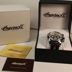 Ceas Automatic Ingersoll CALIBRE 422A IN1215 ! - Ceas barbatesc Ingersoll, Casual, Mecanic-Automatic, Piele, Data, Analog