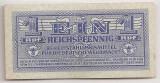 GERMANIA 1 Reichspfennig ND(1942) VF