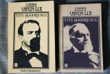 Z. (Zigu) Ornea - Viața lui Titu Maiorescu (2 vol.)