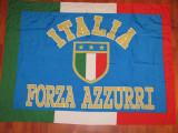 Steag fotbal - ITALIA (dimensiuni mari 132X98 cm)