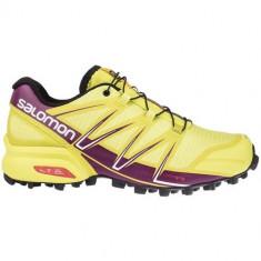 Adidasi Femei Salomon Speedcross Pro L37915400, 36 2/3, Galben