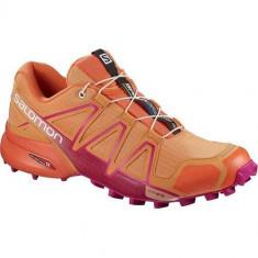 Adidasi Femei Salomon Speedcross 4 400985, 37 1/3, 38, 38 2/3, 39 1/3, 40, 40 2/3, Orange