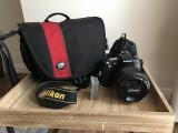 DSLR Nikon D90 + Obiectiv Nikkor 18-200 mm VR II