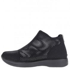 Pantofi sport negri Vagabond Cintia cu perforatii - Adidasi dama