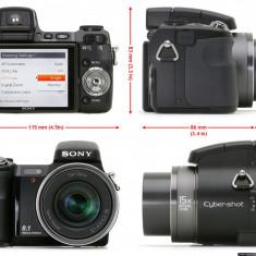 Aparat foto SONY Cyber-Shot DSC-H9 8, 1 Mpix - Baterie Aparat foto