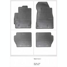 Covorase cauciuc  MAZDA 2 model II 2007-2015 POLONIA - Cauciuc moale AL050418-11