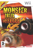 Monster Trux - off road- Nintendo Wii [Second hand], Curse auto-moto, 12+, Multiplayer