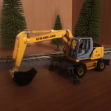 Excavator New Holland scara 1:87