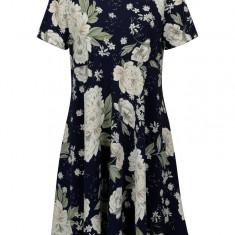 Rochie bleumarin cu print floral pentru femei insarcinate - Dorothy Perkins Maternity - Rochie gravide
