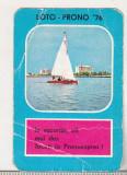 bnk cld Calendar de buzunar 1976 - Loto Pronosport - Pronoexpres