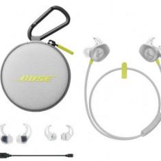Casti Alergare Wireless BOSE SoundSport (Gri/Galben)