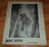 Program afis Jocul Ielelor Camil Petrescu 1978-1979 Teatrul Alecsandri Iasi