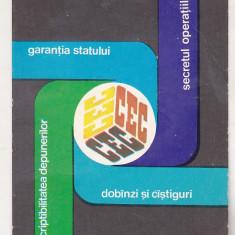 bnk cld Calendar de buzunar 1979 - CEC