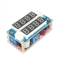 sursa 5A curent voltaj voltmetru ampermetru TK1210 afisaj display led incarcator