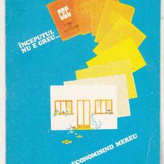 bnk cld Calendar de buzunar 1981 - CEC