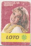 bnk cld Calendar de buzunar 1983 - Loto Pronosport - Loto