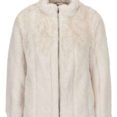 Jacheta bej din blana artificiala Dorothy Perkins Petite - haina de blana