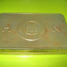 Tigarete HN Guldenring 25 Cigaretten Fugendicht verpackt. Cutie veche mare metal