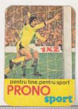 bnk cld Calendar de buzunar 1980 - Loto Pronosport - Pronosport