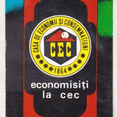 bnk cld Calendar de buzunar 1978 - CEC