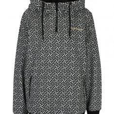 Hanorac alb&negru cu print pentru femei - adidas Originals - Hanorac dama