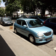 Daihatsu sirion, An Fabricatie: 2002, Benzina, 71300 km, 998 cmc