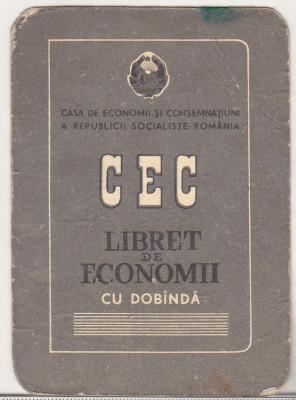 bnk cld Calendar de buzunar 1982 - CEC foto