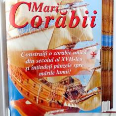 Colectia de reviste Mari Corabii cu componente pentru constructie