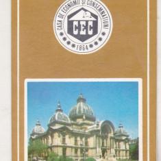 bnk cld Calendar de buzunar 1977 - CEC
